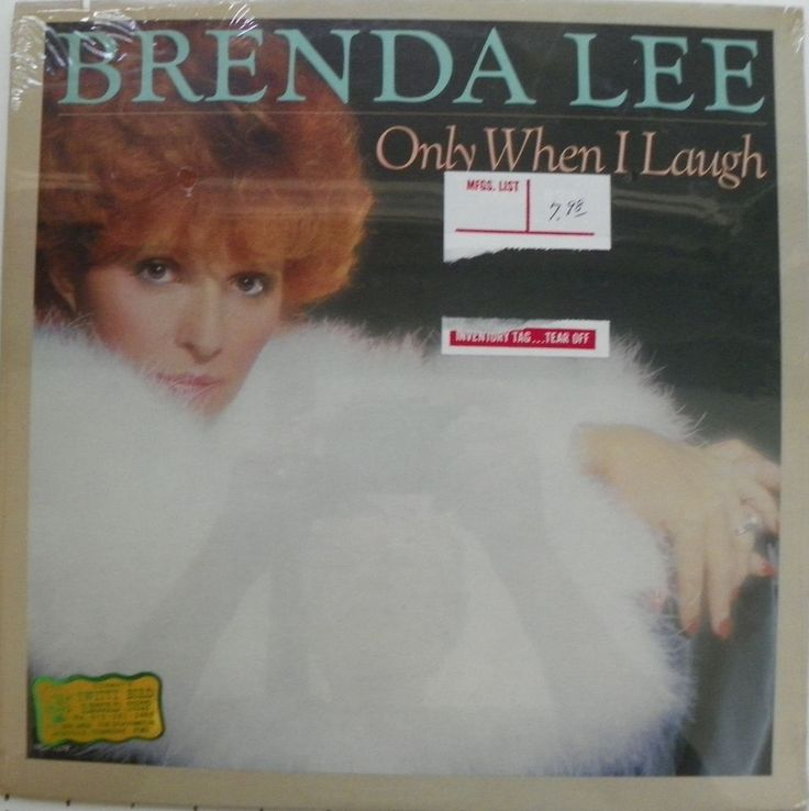 NEW SEALED BRENDA LEE LP 33 RPM ONLY WHEN I LAUGH MCA RECORDS MCA-5278 MINT 1981 #ContemporaryFolk