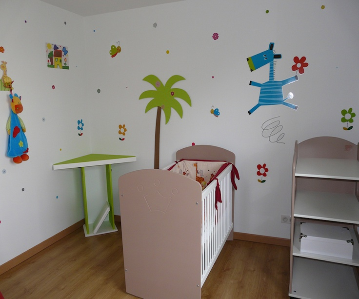 7 best images about decoration chambre bebe on pinterest for Astuce deco chambre bebe