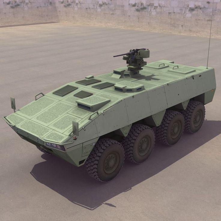 Patria Amv 3D Model - 3D Model