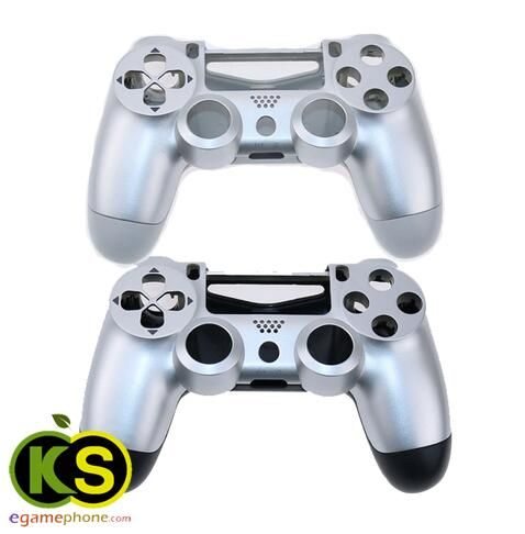 ps4 custom silver mix Front+Back Replacement Housing Shell case for
