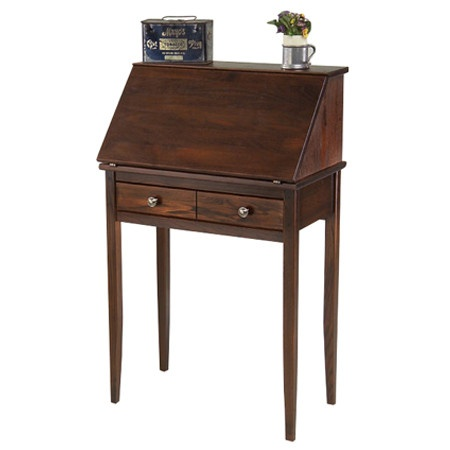 I pinned this Shaker Secretary Desk from the Resolution: Work Smarter event at Joss and Main!  How deep is the desk that is currently in Kara's room?