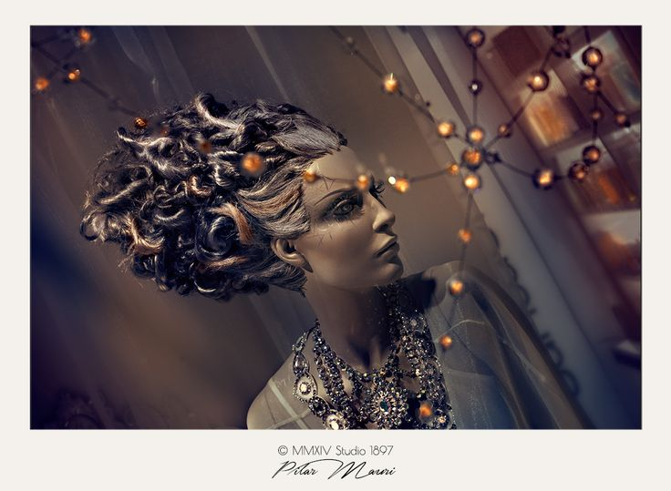 Photography by ++ Pilar Mauri ++ studio1897.co.uk #mannequin #windowdisplay