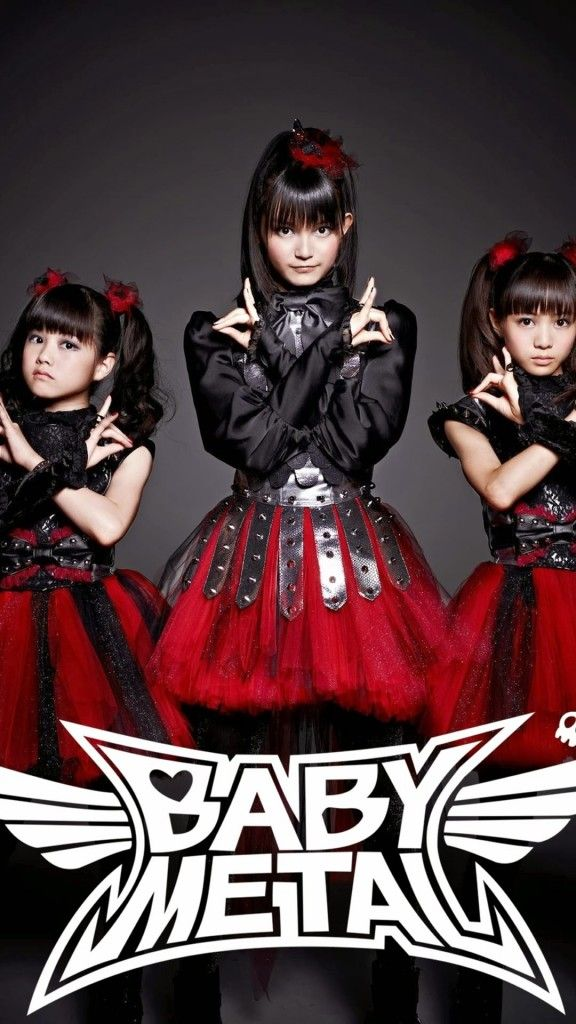 BABYMETAL/3人 iPhone Wallpaper iPhone壁紙