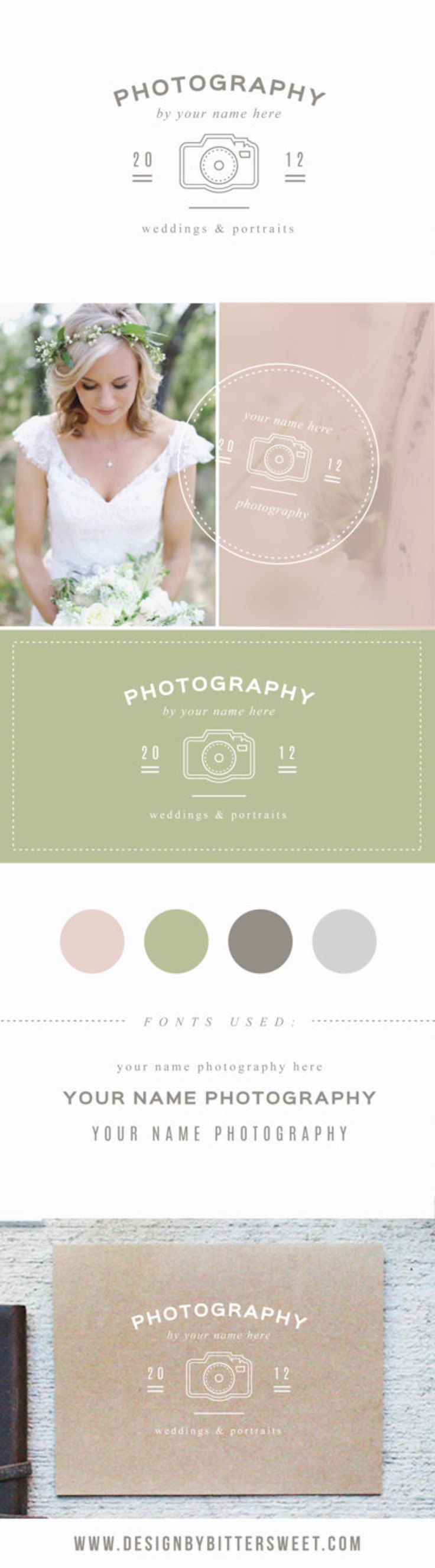 Start rebranding today with our customizable template logos in our Etsy shop. Each layer is fully customizable to meet your needs and give your photography studio a new look.