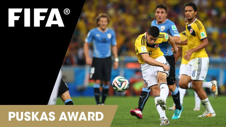 James Rodriguez Goal: FIFA Puskas Award 2014 Nominee