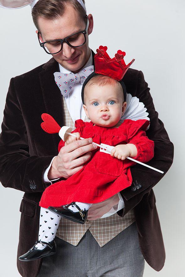 Halloween Costumes. Baby Queen of Hearts!