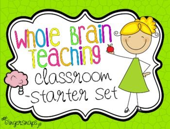 If you are just starting out with Whole Brain Teaching or just want some bright and fun signs to adorn your classroom, then this set is just for you! It comes in bright neon colors or zebra print!It includes:* The 5 Classroom rules:1. Follow directions quickly.2.