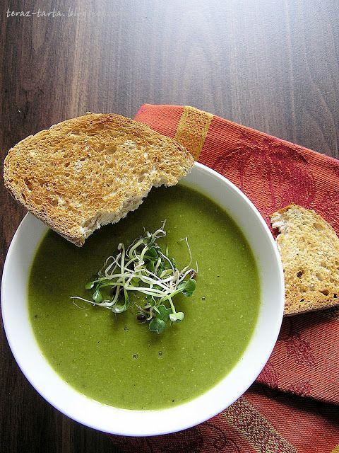 teraz-tarta.blogspot.com: Zupa z zielonego groszku