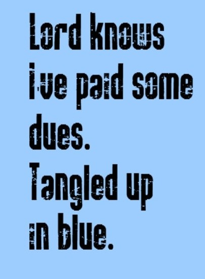 Bob Dylan - Tangled Up in Blue song lyrics, music, quotes