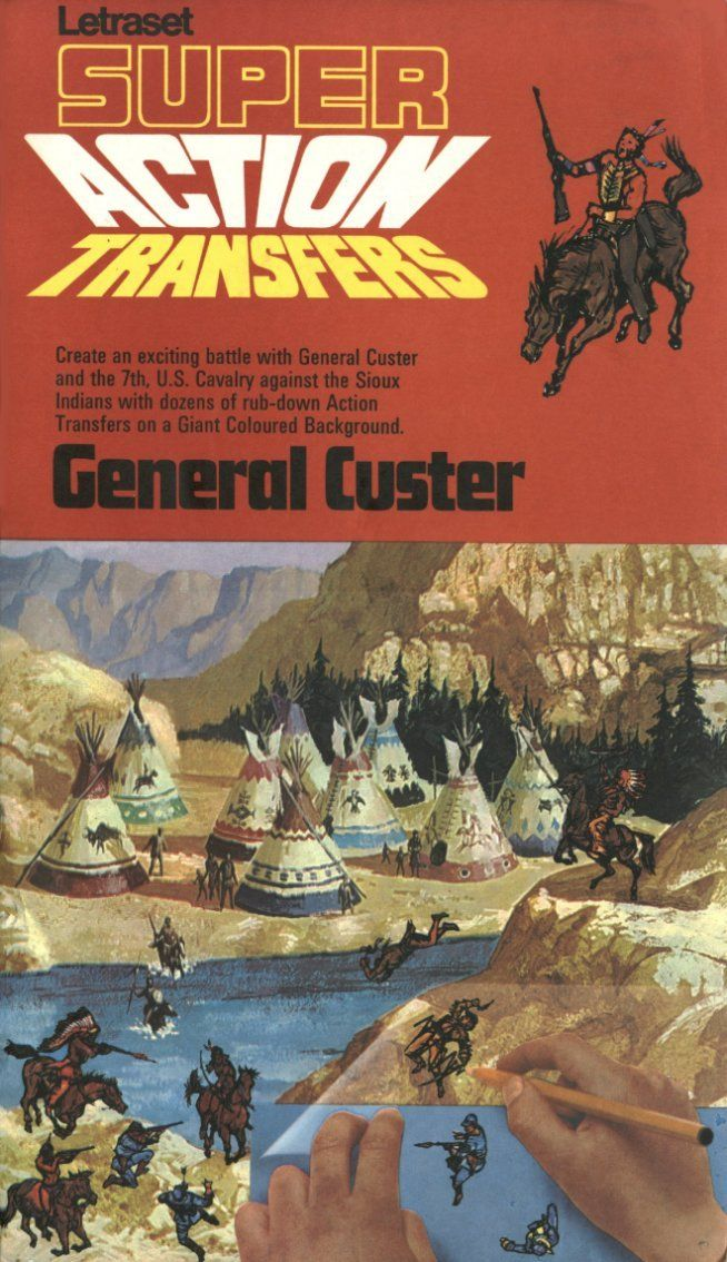 Action Transfers - General Custer.