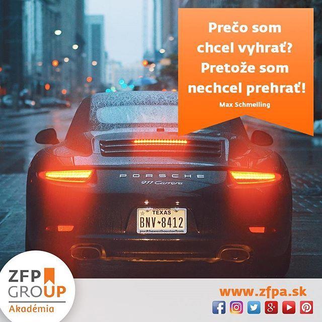 Prečo som chcel vyhrať? Pretože som nechcel prehrať! – Max Schmelling  #motivation #motivacia #businessmotivation #business #biznis #zfp #zfpa #zfpakademia #workshopy