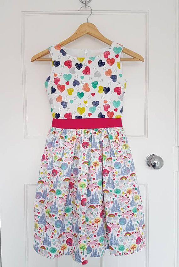 Check out this item in my Etsy shop https://www.etsy.com/uk/listing/524427177/unicorn-dress-rainbow-dress-unicorn