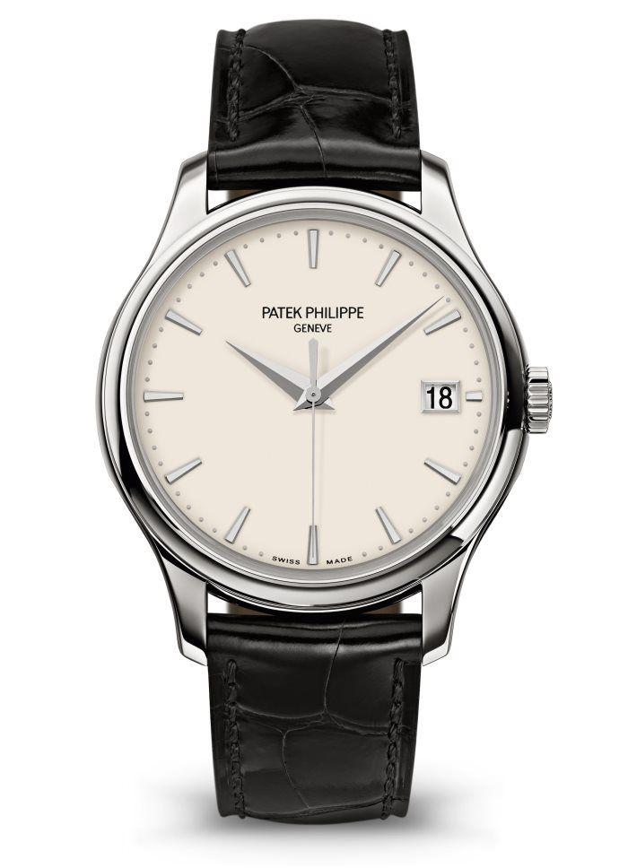 Patek Philippe Calatrava Ref 5227g 001 White Gold Face パテック 高価な時計 メンズ腕時計