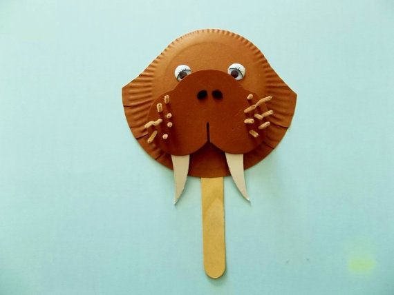 W is for WALRUS Craft kit on Etsy