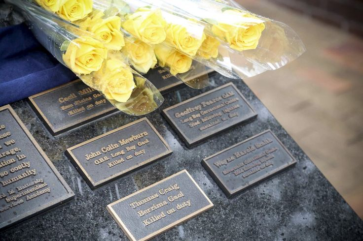 Prison officers who died in the line of duty include: Alan Cooper Bathurst 1958; Albert Hedges Berrima 1959; Cecil Mills Emu Plains 1959; Willy Faber Parramatta 1978; John Mewburn Long Bay 1979; Geoffrey Pearce OAM Long Bay 1997 & Wayne Smith Silverwater http://2007.pic.twitter.com/1rYqbGlpmh