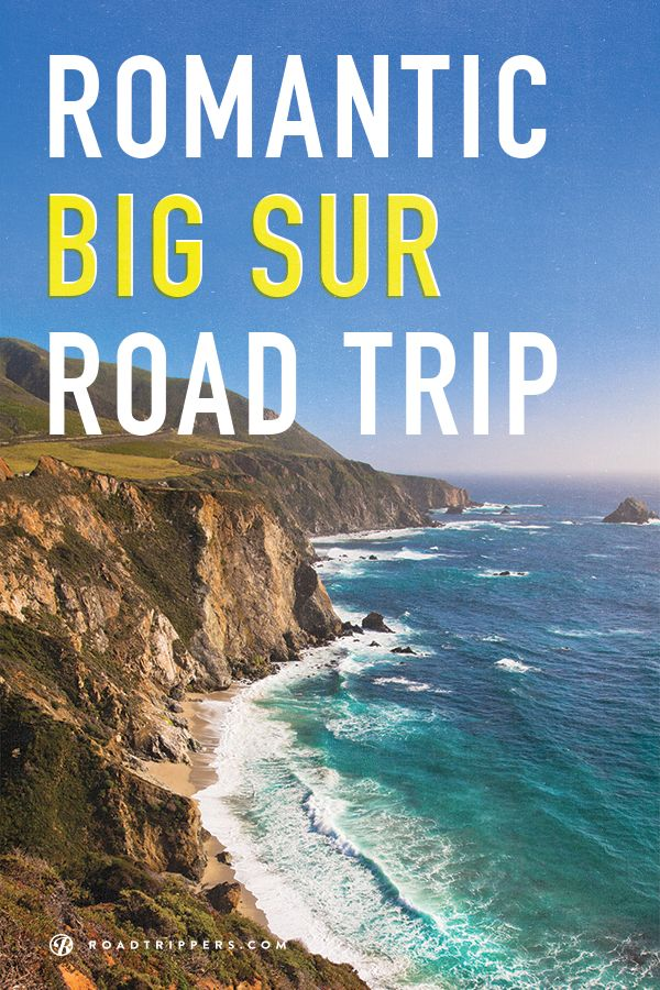 BUCKET LIST: USA: CALIFORNIA ~ A Romantic ROAD TRIP Down Rt 1 in California's Big Sur ~ Over 100 romantic miles of road, beach, & ocean.