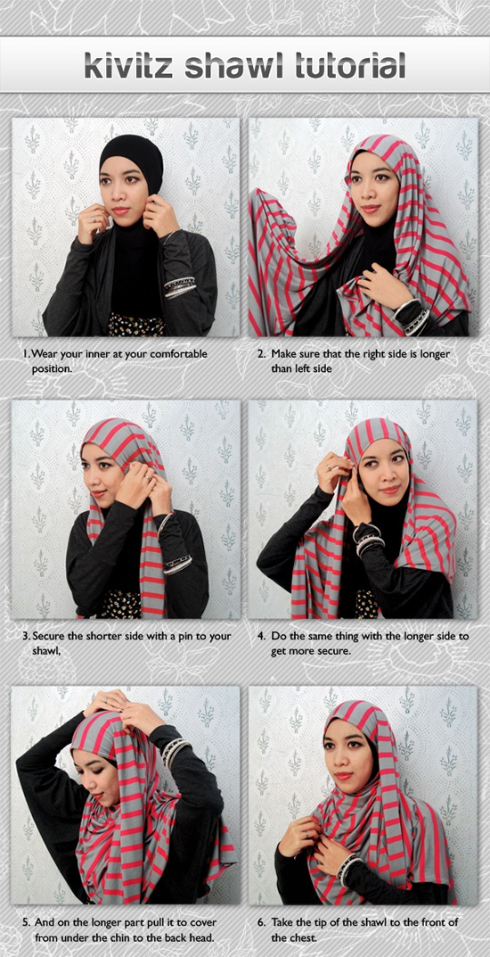 Kivitz Shawl Tutorial
