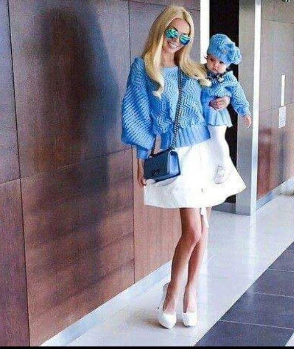 """Love the matching outfits""""style by elli ess"""""""