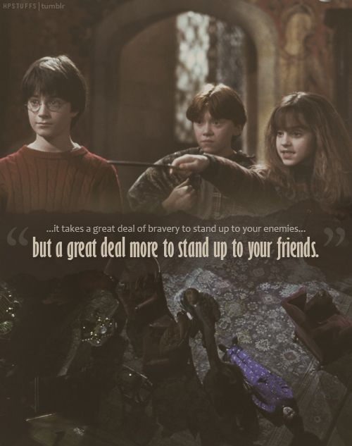 Harry Potter Quotes Friendship