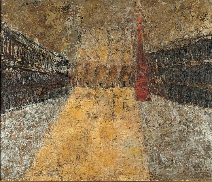 An exhibition at Ca' Foscari in Venice pays tribute to the U.S. Action Painting master on the centenary of his birth. Congdon lived in the city on the lagoon from 1948 to 1960, during which time he painted several of his masterpieces