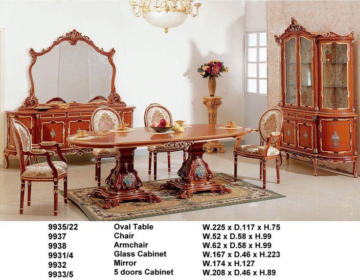 Основной каталог производства | Европейская эксклюзивная мебель из натурального красного дерева