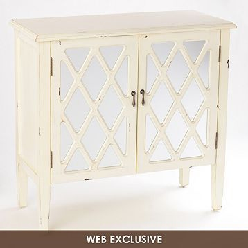 Best Ellie Mirrored Ivory Cabinet Ivory Cabinets Cabinet 400 x 300
