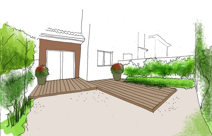 131 best dibujos croquis y planos de jardines images on for Diseno de jardines pequenos