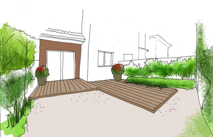 129 best images about dibujos croquis y planos de for Dibujos de jardines