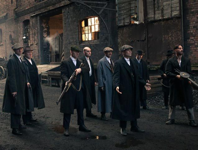 Peaky Blinders - Downton abbey if you tied it to a chair and punched it for a couple of hours..