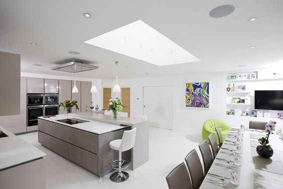 Flat roof lights add 3 times more daylight to your kitchen extension than vertical uPVC windows? Plus, Sunsquare flat roof windows are the ultimate in style and energy efficiency.