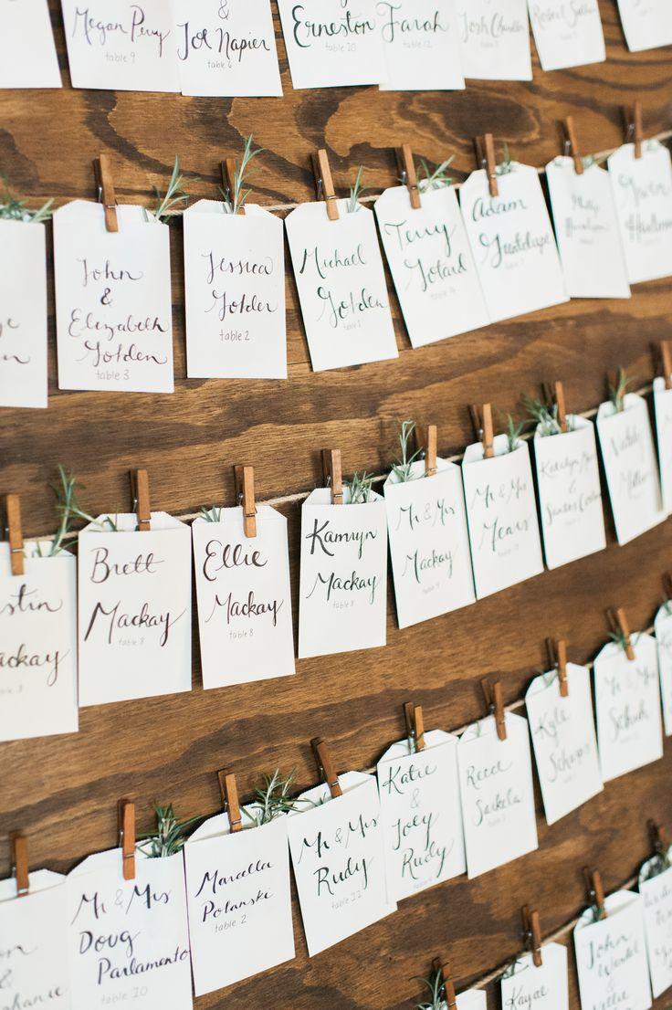 natural blue and green wedding