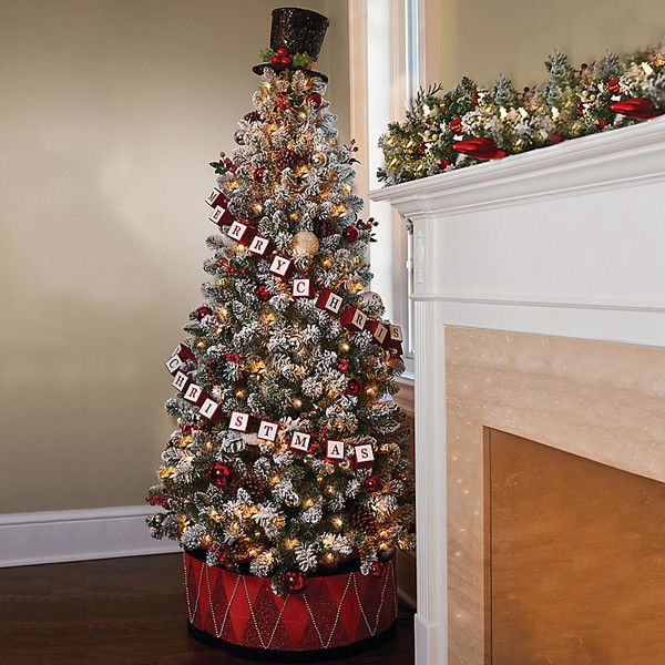 Best Indoor Christmas Decorations best 25+ pre decorated christmas trees ideas that you will like on
