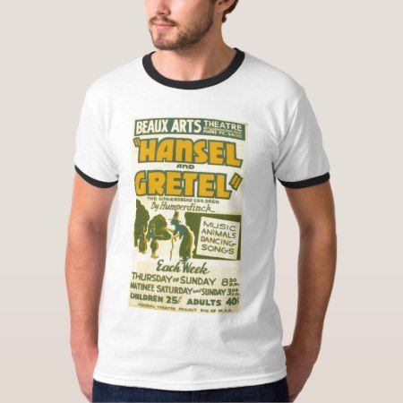 Hansel and Gretel - Opera by Engelbert Humperdinck T-Shirt - click/tap to personalize and buy
