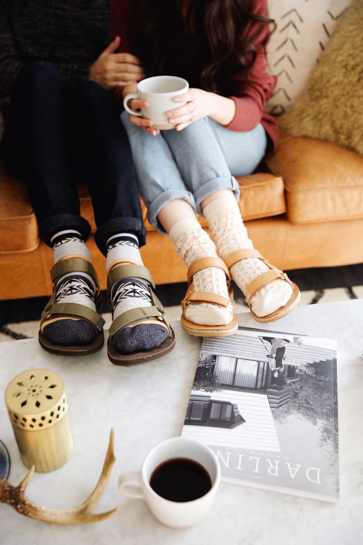 New Darlings - Socks and Sandals with Teva