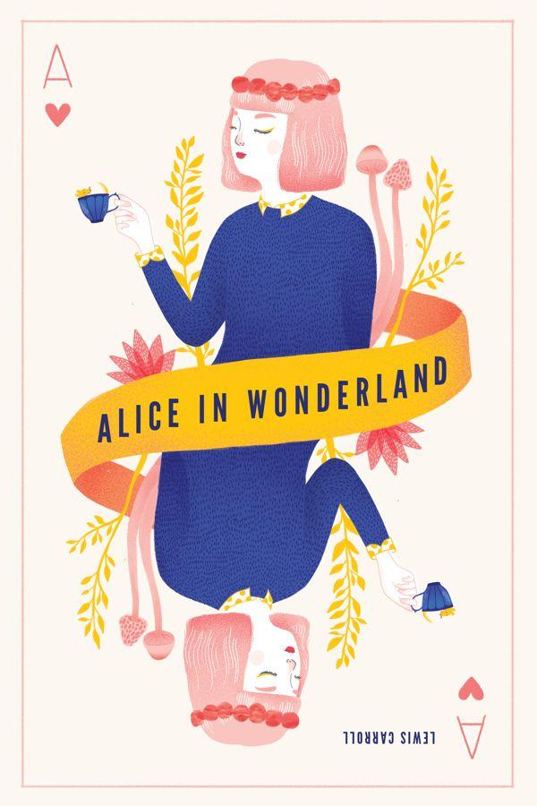 Alice in Wonderland by Grace Cho, via Behance