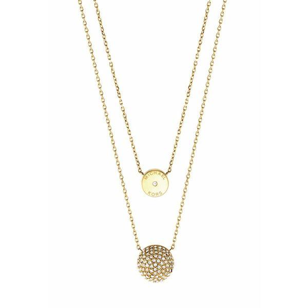 Michael Kors BRILLIANCE Halskette goldcoloured #michaelkors #necklace