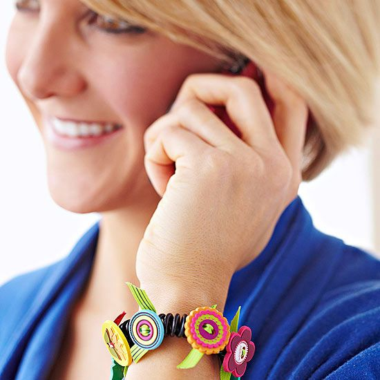 Crafty Button Bracelet