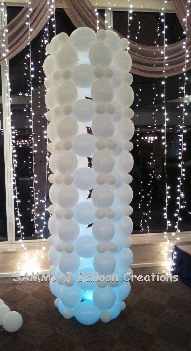 blanco con luces