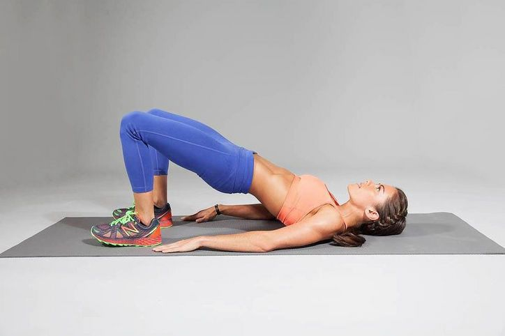 American Ninja Warrior Kacy Catanzaro's Workout: Hip raiser