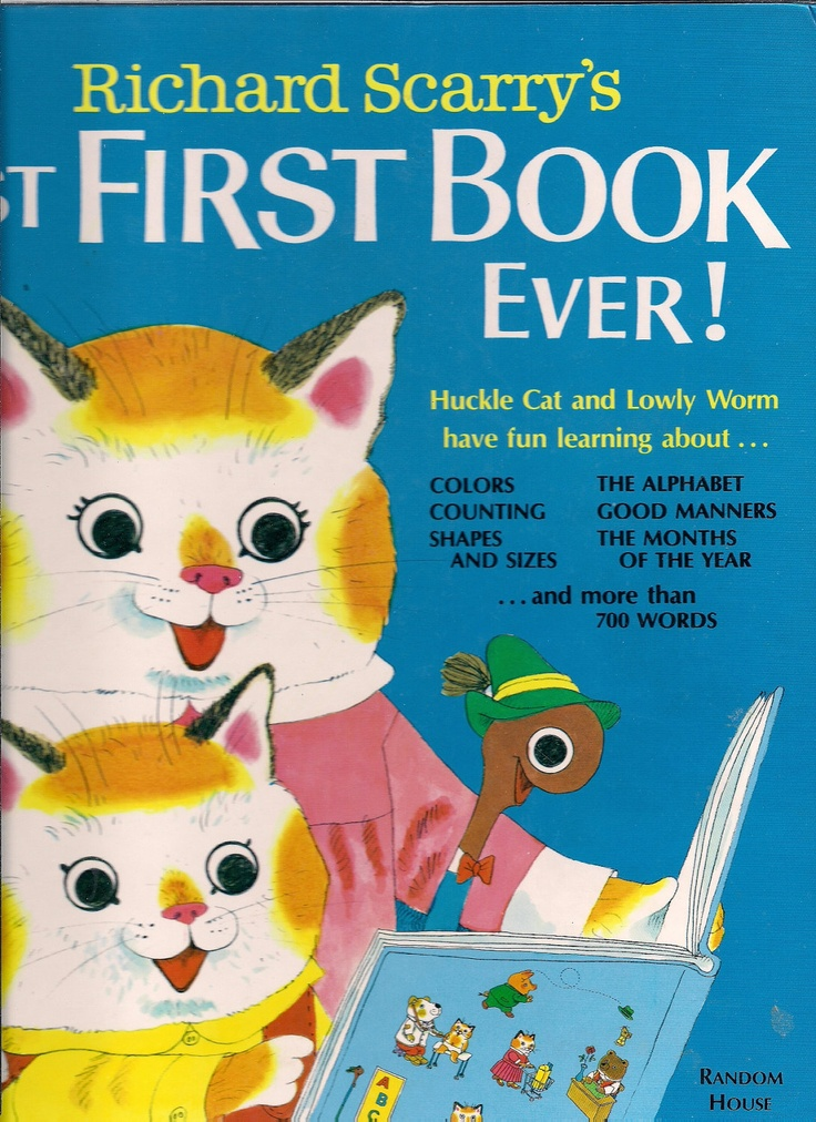 Richard Scarry's Best First Book Ever - 1979