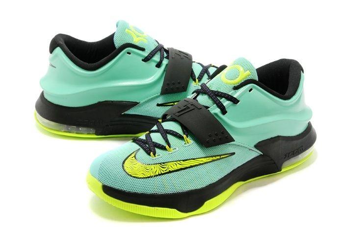Nike Air Jordan Mens Nike Air Jordan Mens Nike Zoom KD V Nike Zoom KD VII 7 Mens Skor Gron Gul Svart Ny Special 02