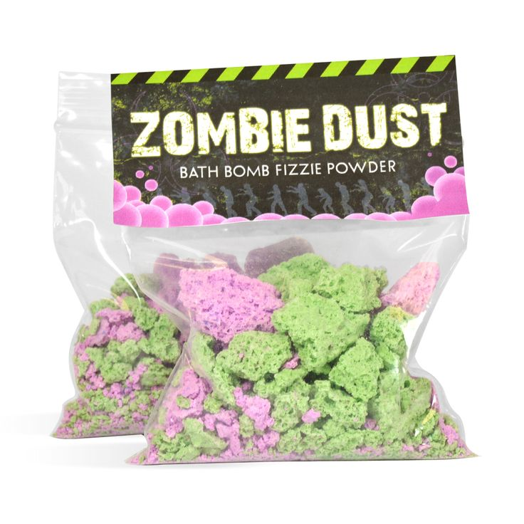 DIY Zombie Dust Bath Fizzie Powder Kit: This is so fun for kids to make AND to use! The convenient kit makes this craft really easy. Perfect for the Halloween season!