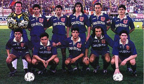 U de Chile formacion 1995