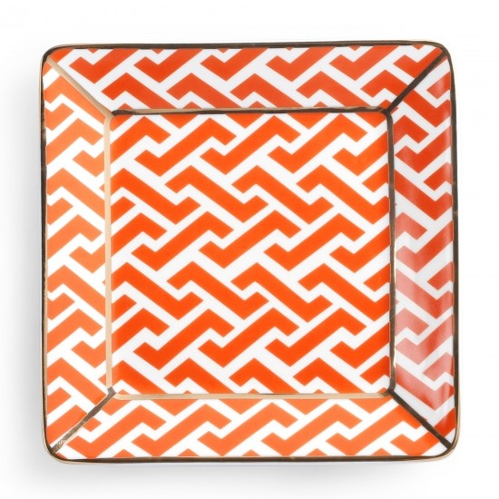 Home Accessories - All Over Pattern Square Decorative Plate - Houndstooth  sc 1 st  Pinterest & 18 best Decorative plates images on Pinterest | Decorative plates ...