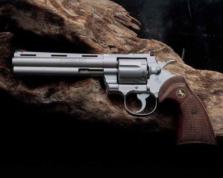 Colt Python 357 revolver. One of my all time favorite handguns.