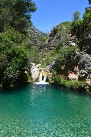 Only half an hour from Almuñecar by car.  River pool Junta de los Rios, Granada.