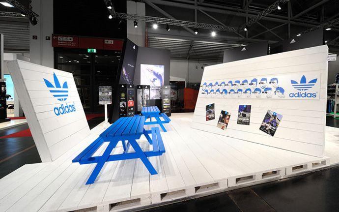 adidas ispo2012/ news/ dc designcompany gmbh/ kommunikation im raum/ messe/ event/ roadshow/ handel