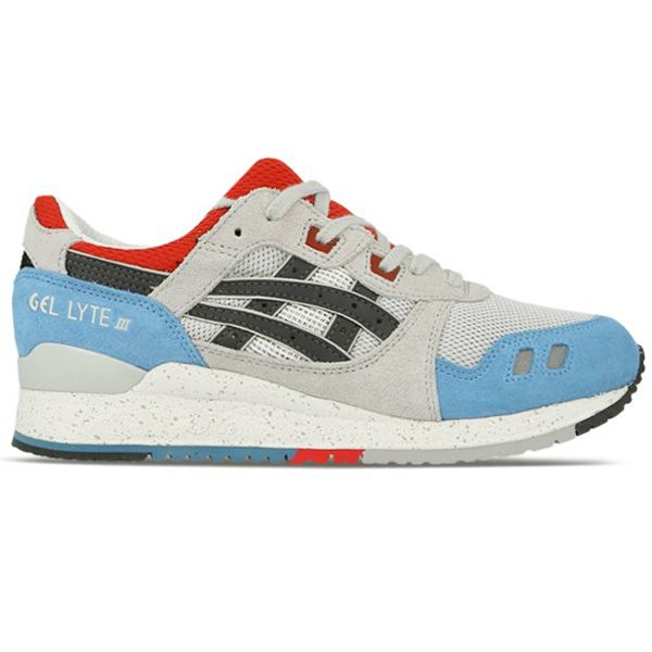 asics tiger mens gel lyte iii exploration pack trainers soft grey