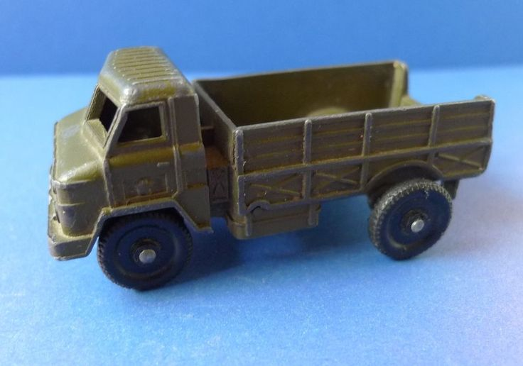 Vintage USSR metal iron toy Military Car Truck Lorry - Soviet Union toys