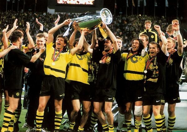 In 1997, Borussia Dortmund beat Juventus 3-1 to win their first and only Champions League trophy.